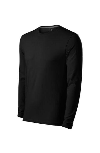 BRAVE 155 - Férfi stretch póló - Hosszú ujjal FEKETE (XL)