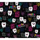 SMILE It's Toothsday!  Dickies- Női fogmintás felső