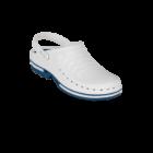 WOCK CLOG 02 Klumpa – Fehér | Kék – Sterilizálható Munkapapucs (41/42)
