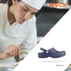 WOCK® NUBE 02 Papucs – Világoskék – Klumpa + COOLMax talpbetét