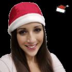 Műtős sapka - Karácsonyi