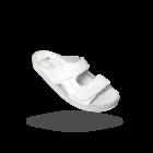 M12 - MILLAND - Férfi Bőr Papucs - Fehér Munkapapucs