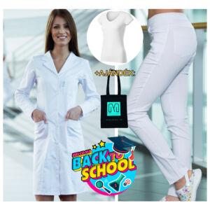 Suli Szett 2 :  Melissa Excl. köpeny + Savannah nadrág + v nyakú gumis póló + Ajándék vászontáska