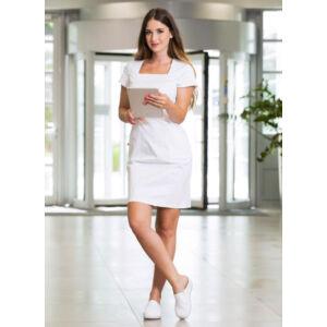 Pamela ruha - Fehér - stretch anyag