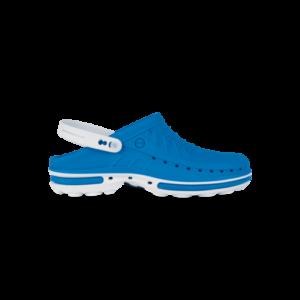 WOCK CLOG 07 Klumpa – Kék | Fehér – Sterilizálható Munkapapucs (41/42)