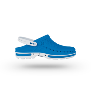 WOCK CLOG 07 Klumpa – Kék | Fehér – Sterilizálható Munkapapucs (37/38)