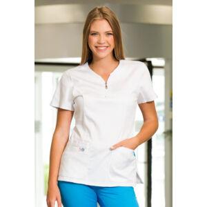 Zafír női felső - MILLAND UNIQUE - Fehér Stretch - Antibakteriális - vízlepergető anyag