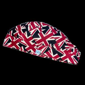 UK zászló mintás Műtős sapka