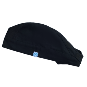 Műtős sapka Fekete