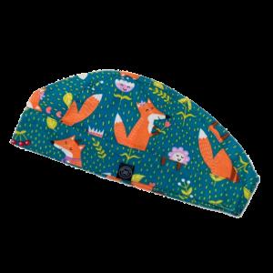 Sweet Fox - Róka mintás műtős sapka