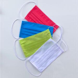 Mosható textil maszk - Fehér