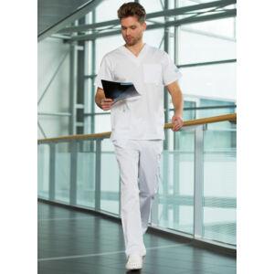 Basic Szett MEN - Medox felső + Körbegumis nadrág - Fehér
