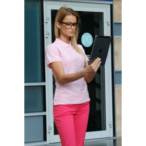 Teniszpóló Pink Női (XL)