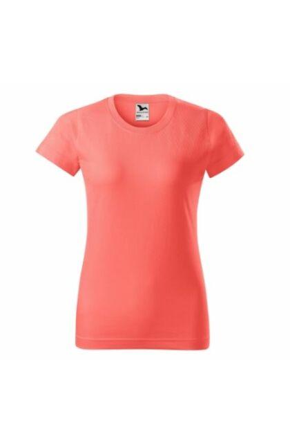 Basic - Női póló -RU- CORAL