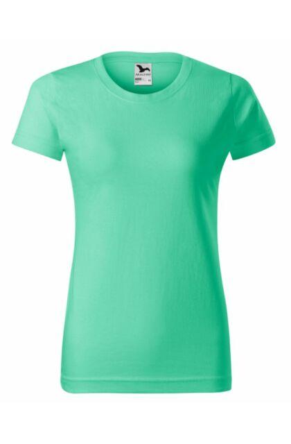 Basic - Női póló -RU- Mentazöld