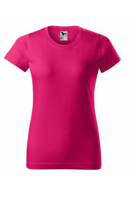 Basic - Női póló -RU- Magenta szín