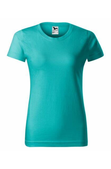 Basic - Női póló -RU- Smaragdzöld