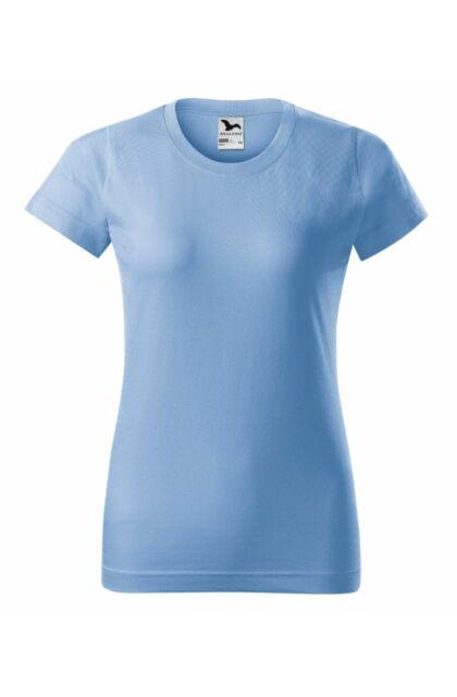 Basic - Női póló -RU- Halványkék