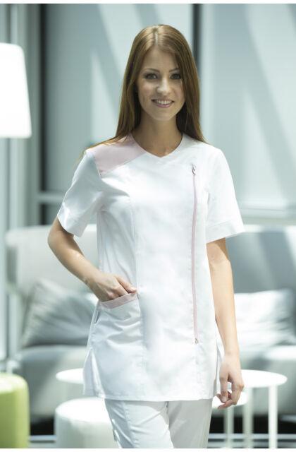 Angelina tunika Pink-White (34)