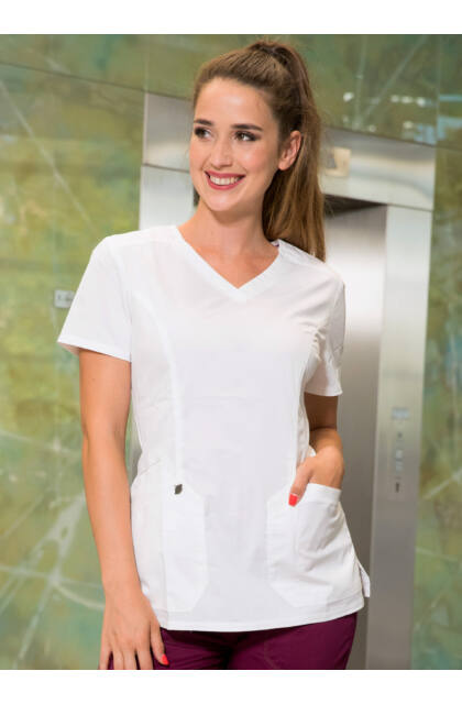 DICKIES - Essence White női felső - Outlet-szépséghibás termék- S méret
