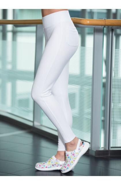 OLIVIA Extra-Stretch munkanadrág - Fehér