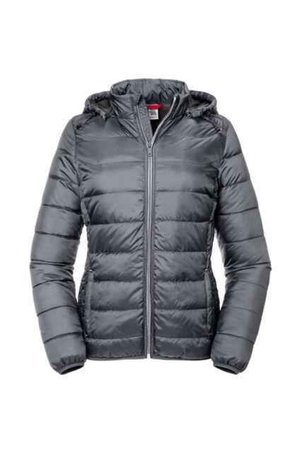 Nano Jacket - Ladies - Russell - Acélszürke