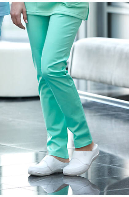 Zöld pamutsztreccs munkanadrág (Tina) (32)