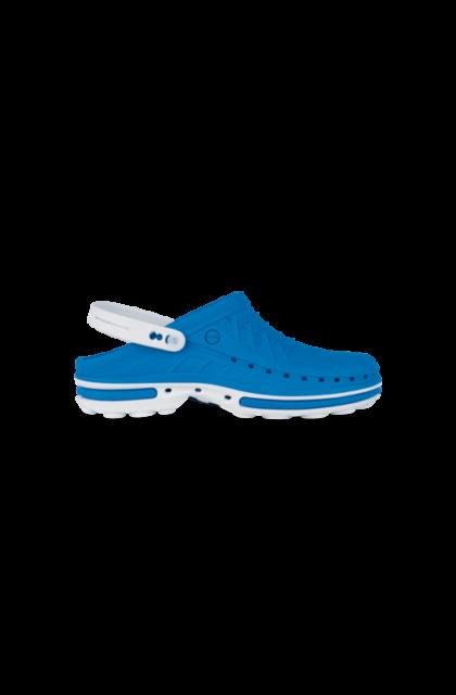 WOCK CLOG 07 Klumpa – Kék   Fehér – Sterilizálható Munkapapucs (41/42)