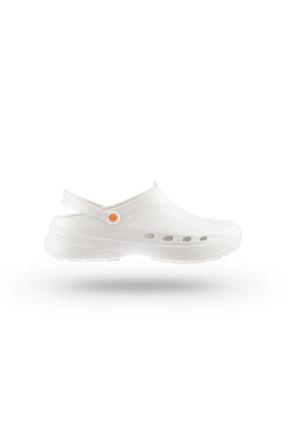 WOCK® WAYLITE 03  – Fehér – 50°C mosható kórházi Munkapapucs
