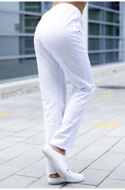 OUTLET - Nóra nadrág FEHÉR (48) - Szépséghibás termék