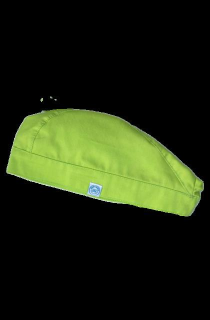 Műtős sapka Lime