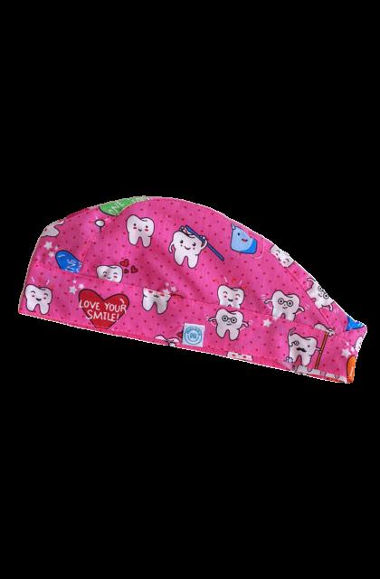 Love Your Smile! Pink Műtős sapka