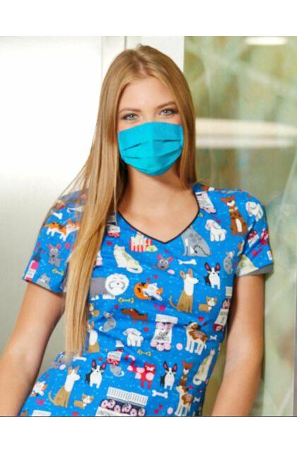 Mosható textil szájmaszk Miamikék