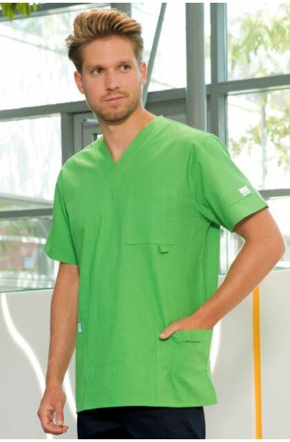 Medox V kivágású felső Benetton-Zöld