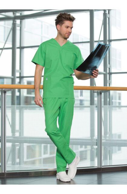 Basic Szett MEN - Medox felső + Körbegumis nadrág - Benettonzöld
