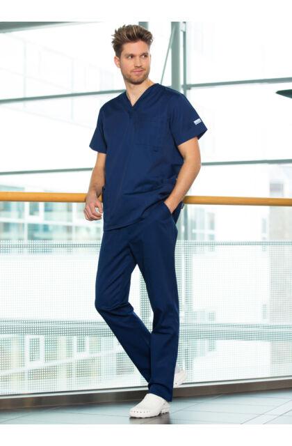 Basic Szett MEN - Medox felső + Körbegumis nadrág - Sötétkék