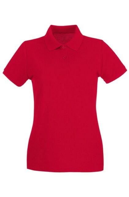 Teniszpóló női piros (S)