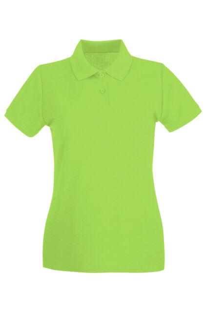 Teniszpóló Lime Női (S)
