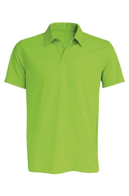 Teniszpóló Lime (S)