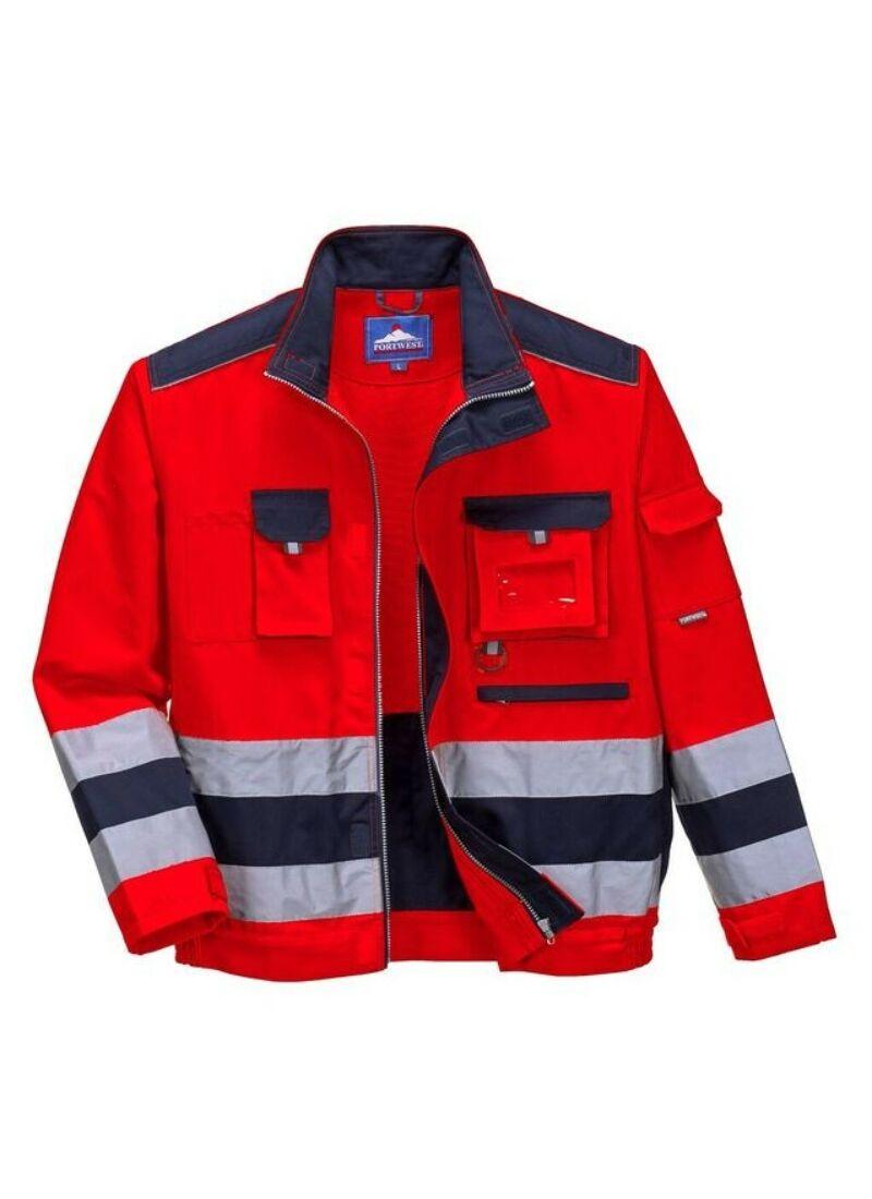 Texo Kabát munkaruha - TX50 Piros - Mentős - dokiruha.hu ad343f556b